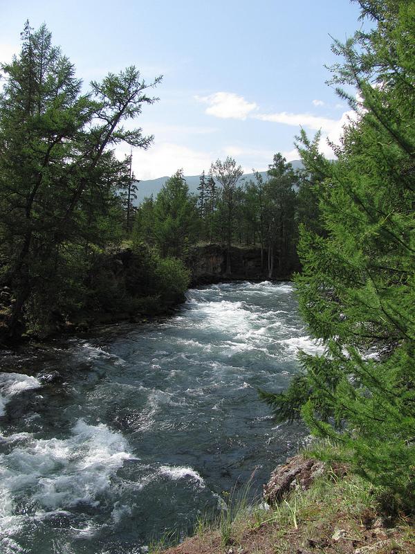 Река Жомболок