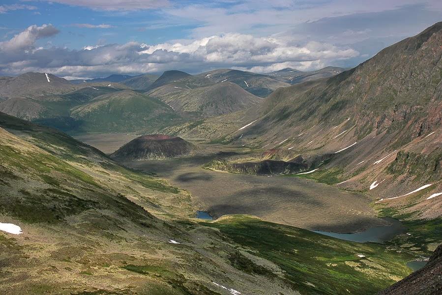 Долина Вулканов, начало реки Жомболок (фото Вячеслава Петухина)
