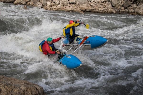rapid Tvishi Rioni river