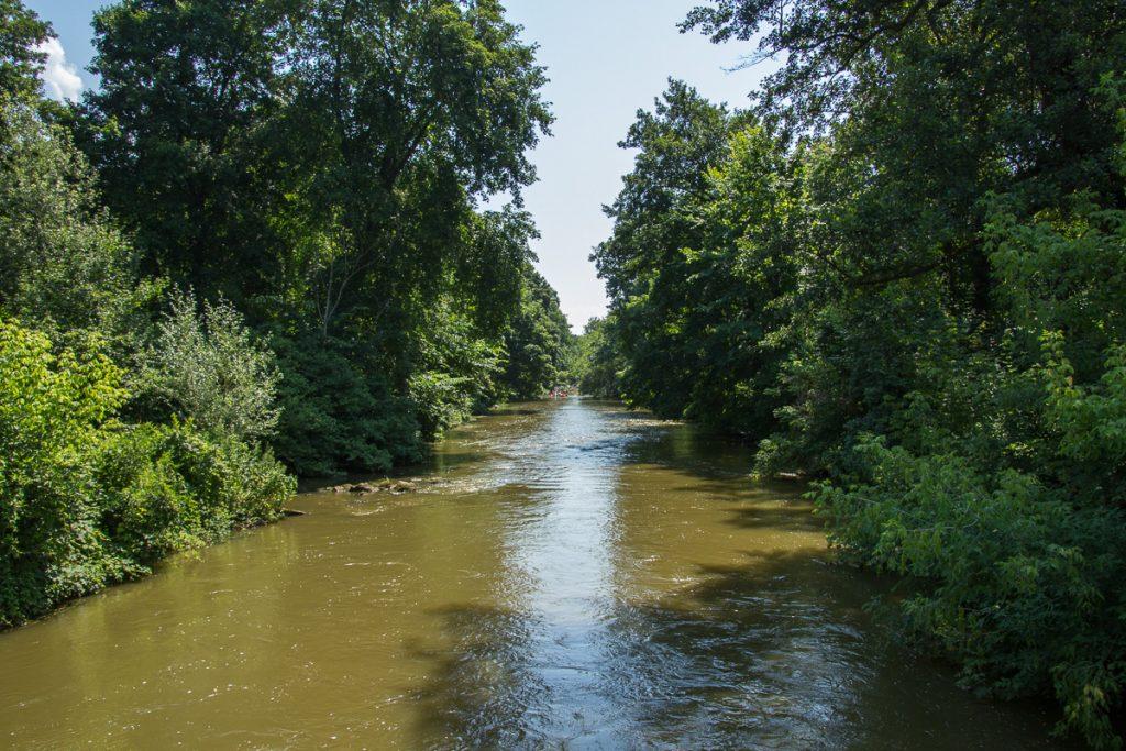 Канал на Южном Буге в Сокольце