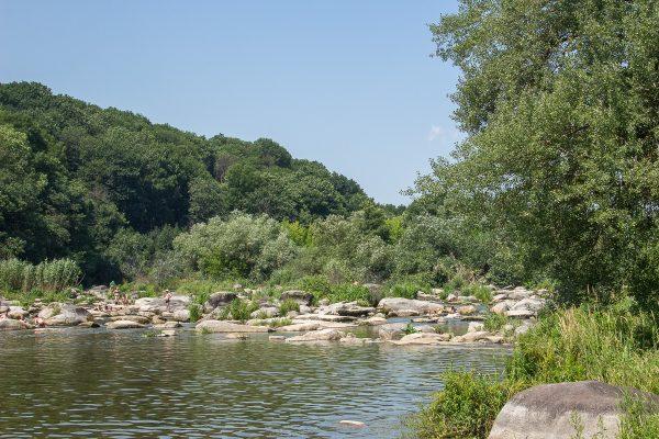Печерские пороги на реке Южный Буг