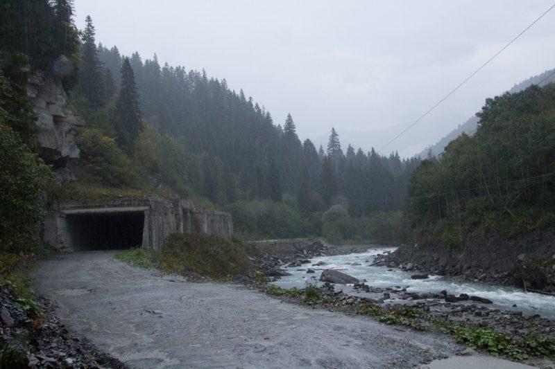 Риони, вид на порог Тунельный