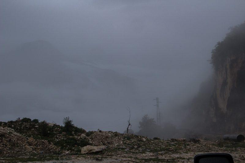 Спуск в Цагери