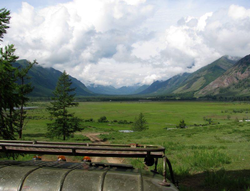 Долина реки Жомболок