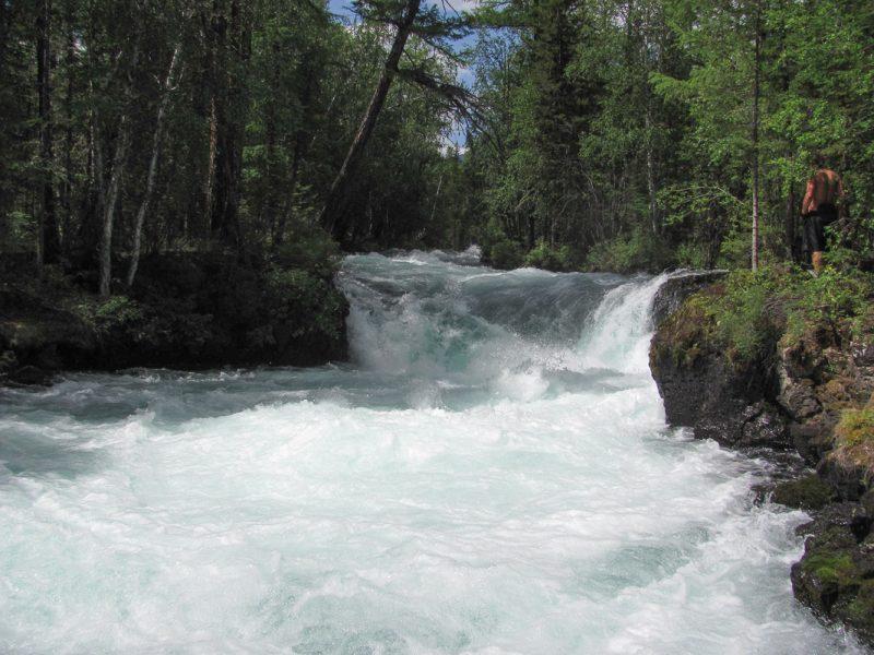 Порог-водопад Катапульта