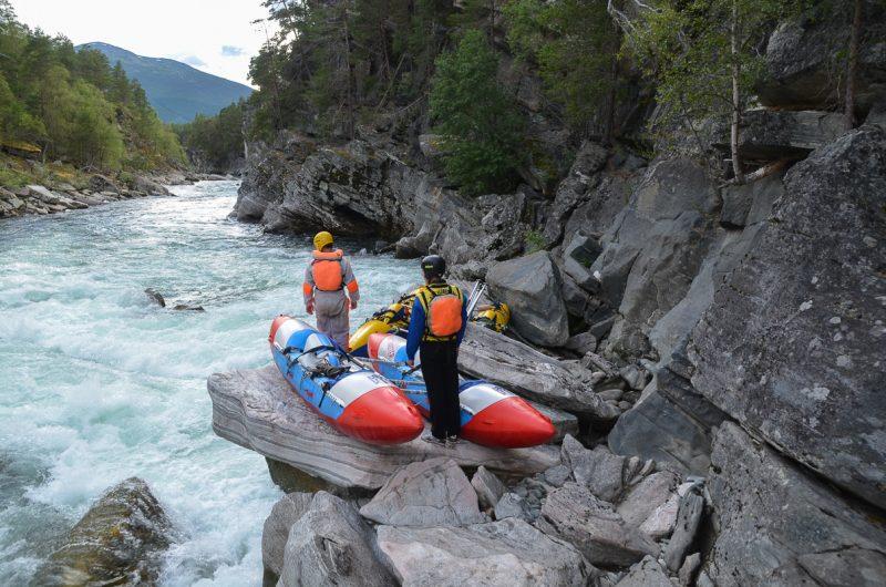 Очередной порог на реке Driva