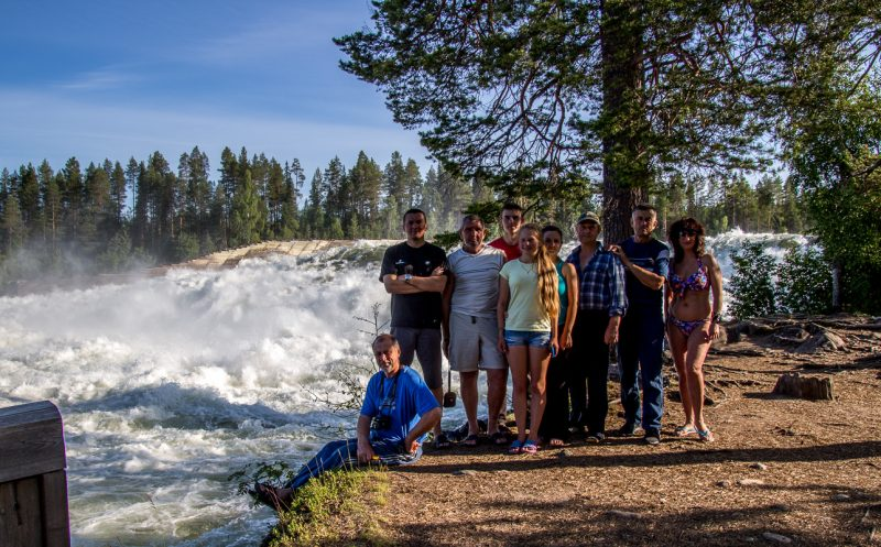 Заканчиваем Швецию экскурсией по Storforsen