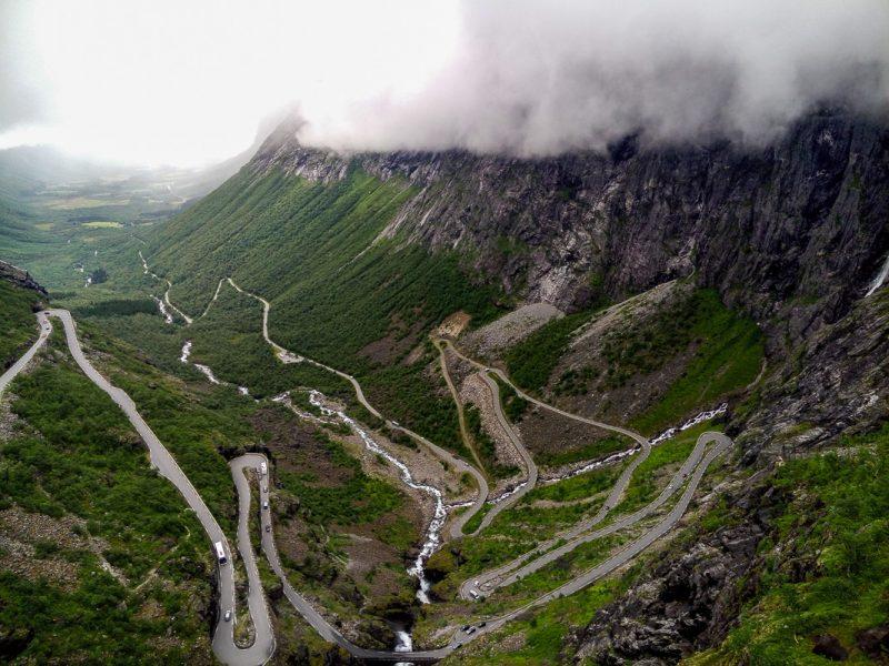 """Дорога Trollstigen - """"Лестница Троллей"""""""