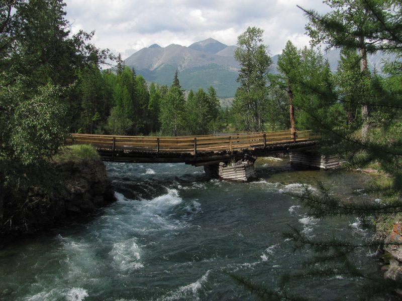 Мост через Жомболок
