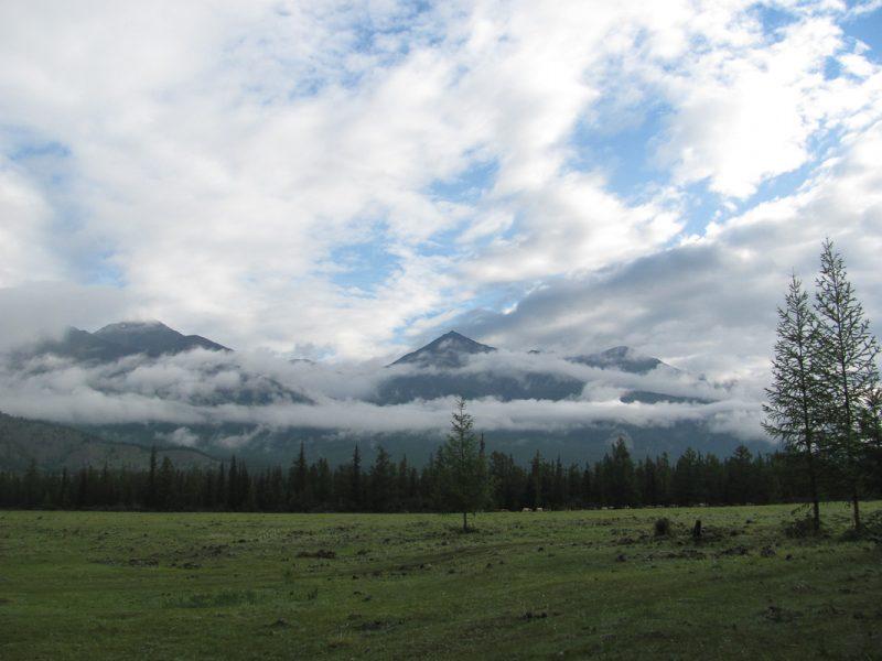 Горы Восточного Саяна