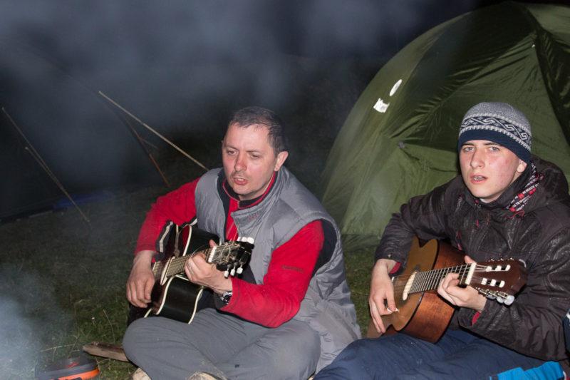 Черная Тиса - песни под две гитары