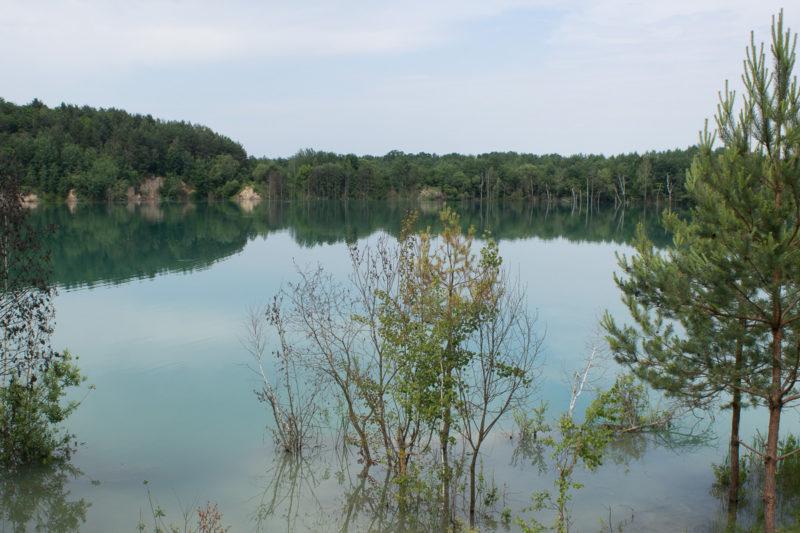 Затопленный Черепашинский карьер. Уникальное озеро