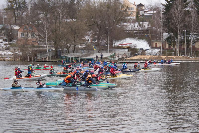 100-километровый водный экстрим марафон