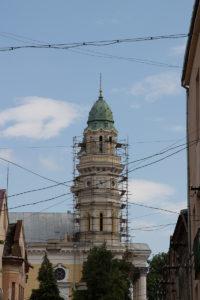 Тур по Закарпатью. Крестовоздвиженский кафедральный собор в Ужгороде