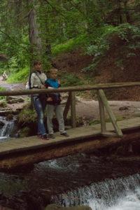 Тур по Закарпатью. Идем к водопаду Шипот