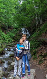 Тур по Закарпатью. Водопад Шипот