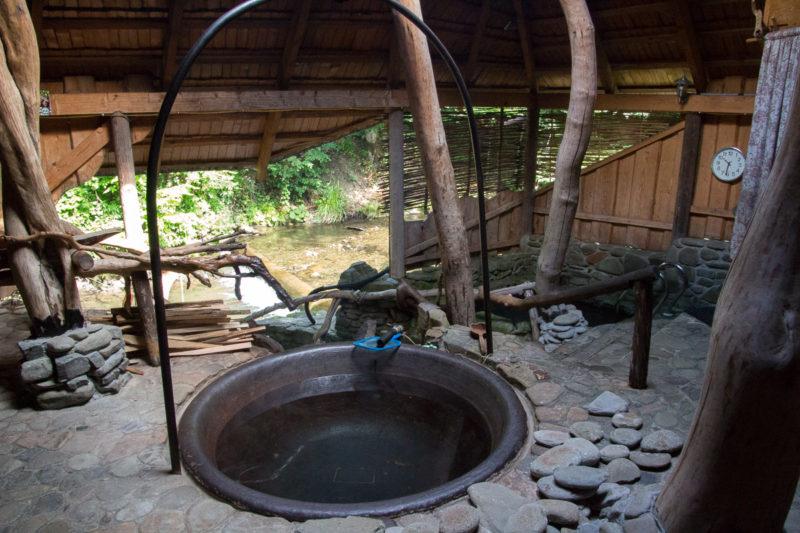 Тур по Закарпатью. В чане вода с сереводородом