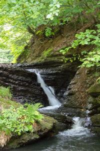 Тур по Закарпатью. Водопад Переступень на реку Туричка