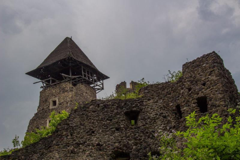 Тур по Закарпатью. Неприступная стена Нивицкого замка
