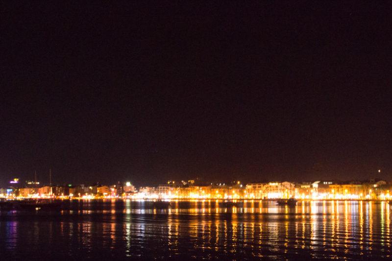 Турция. Ночная набережная Мармариса