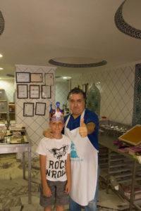 Турция Мармарис. Артем и Доктор лукум