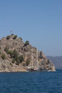 Турция. Острова. Руины форпоста