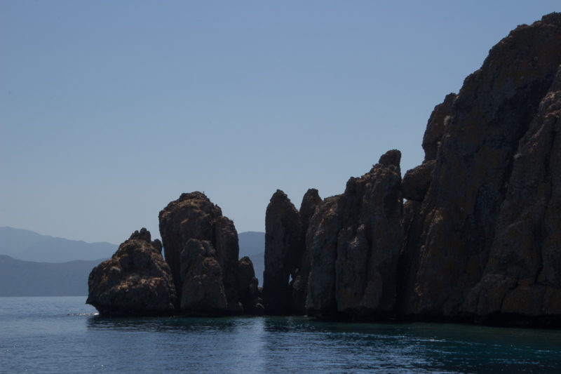 Турция. Острова. Остановка на вулканическом острове