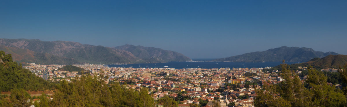 Турция. Панорама Мармариса