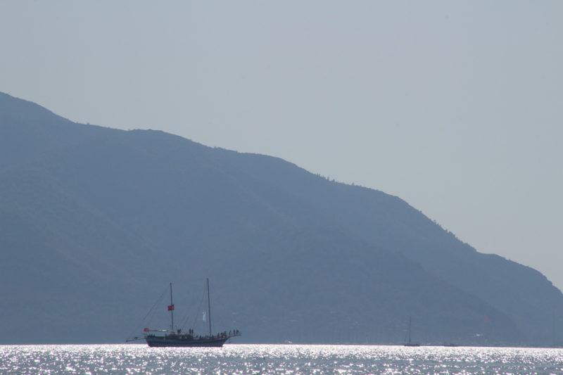 Турция. В бухте Мармариса