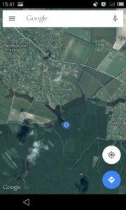 Цепь озер на Мизяковских хуторах