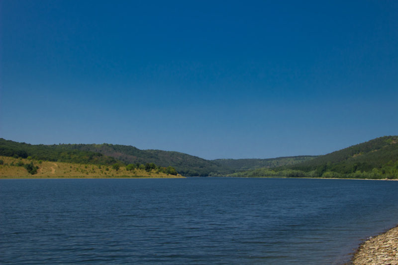 Отдых на реке Ушица. Разлив реки