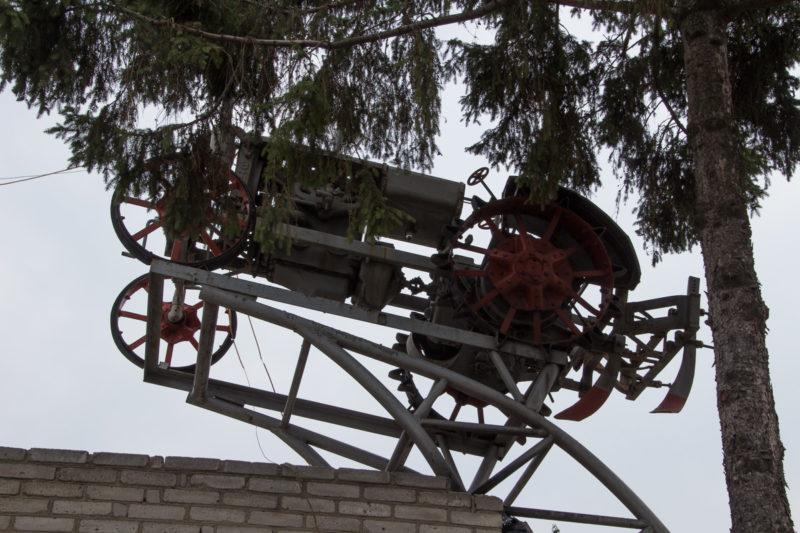 Трактор который хочет летать