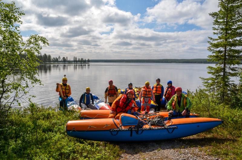 Ф.9. Озеро Якнаяуре. Место старта