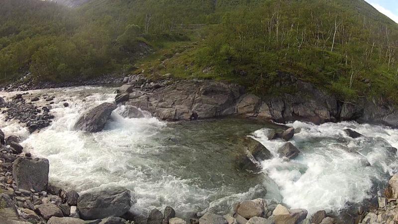 Ф.128. Река Дрива. Препятствие №7. Начало