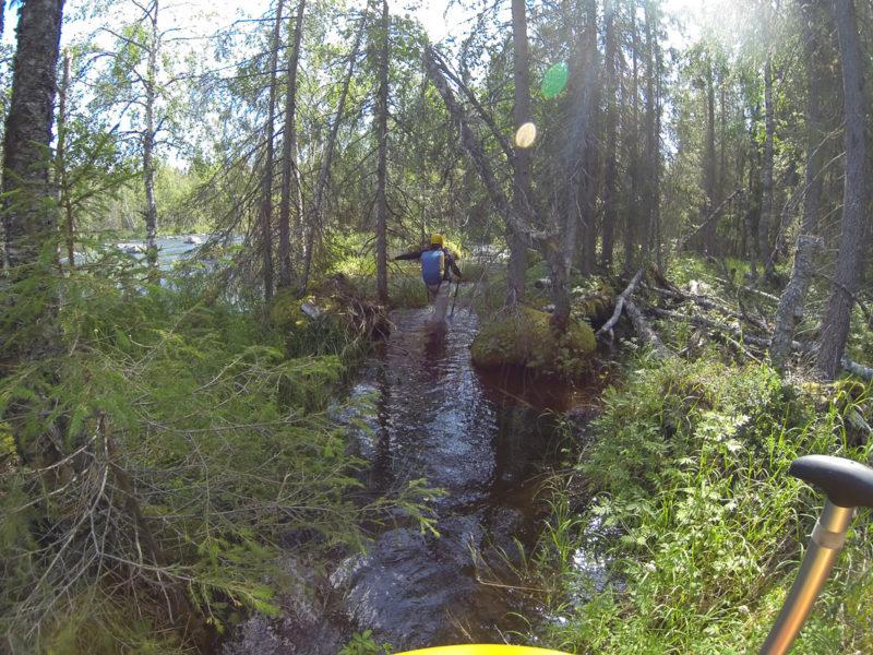 Высокая вода на р. Питеэльвен