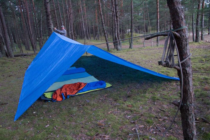 Ф.2. Ночевка в лесу возле Балтийского моря