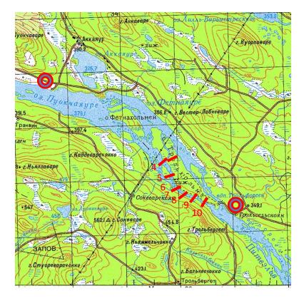 Швеция-Норвегия 2017 карта 1 Питеэльвен