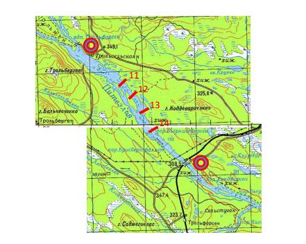 Швеция-Норвегия 2017 карта 3 Питеэльвен