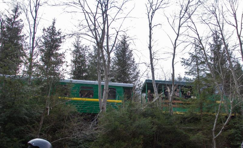 в Карпатах Карпатский трамвай