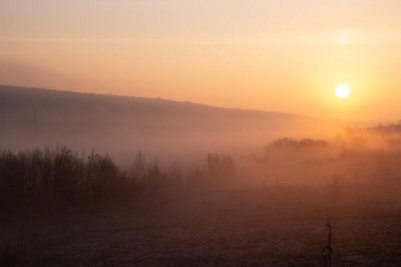 Раннее ноябрьское утро