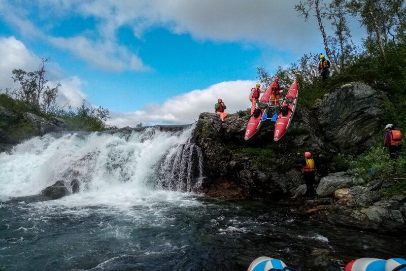 Gausta - снова водопад