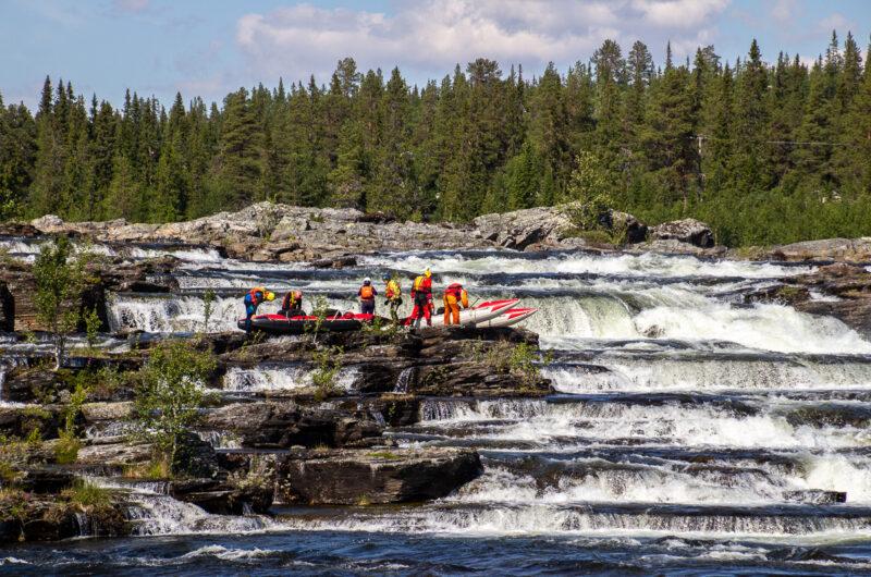 Швеция река Kultsjön